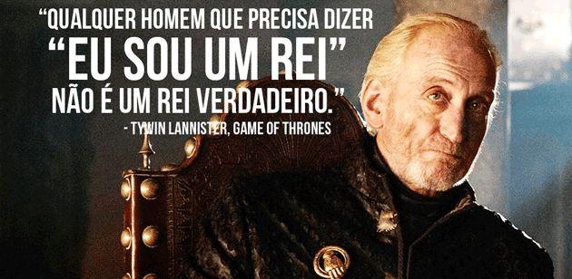 Frase: Game Of Thrones, Tywin Lannister (Charles Dance). - Net7Art