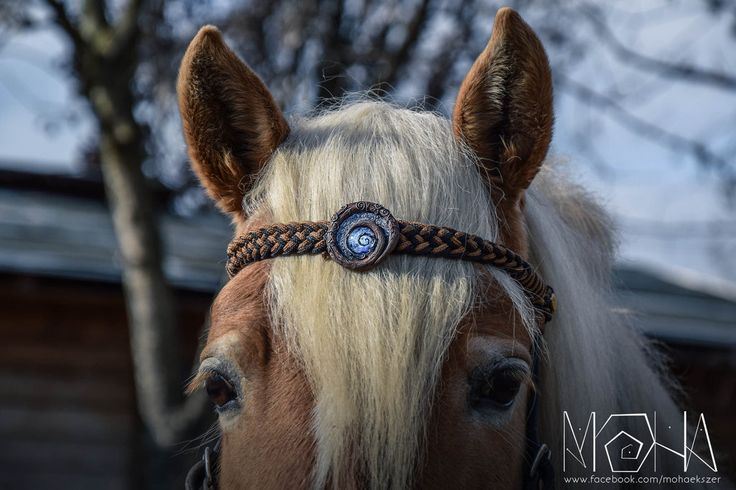 Glowing bridle ornament - Copyright (c)Moha by Moha-jewelry on DeviantArt
