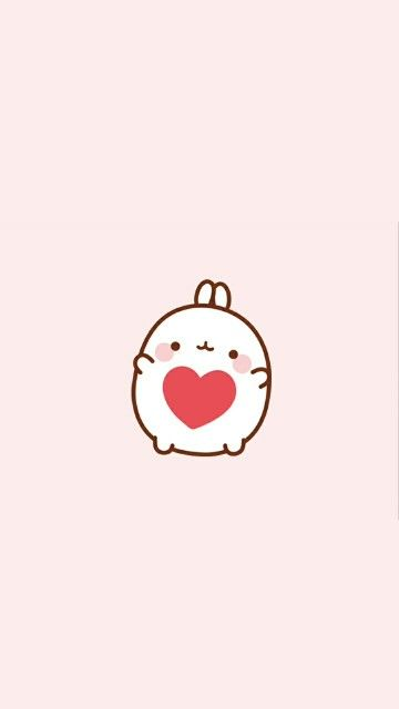 Molang Love Wallpaper Kawaii WallpaperLove WallpaperWallpaper BackgroundsIphone