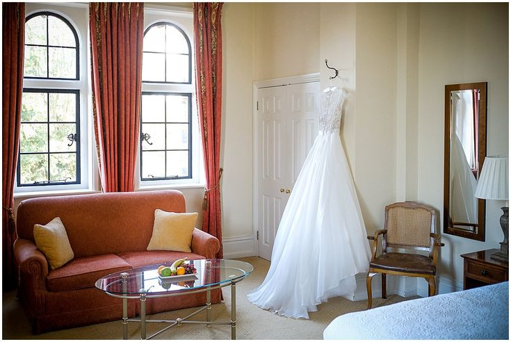 Kelly's amazing wedding dress at the Elvetham Hotel #weddingphotography #elvetham #weddingdress