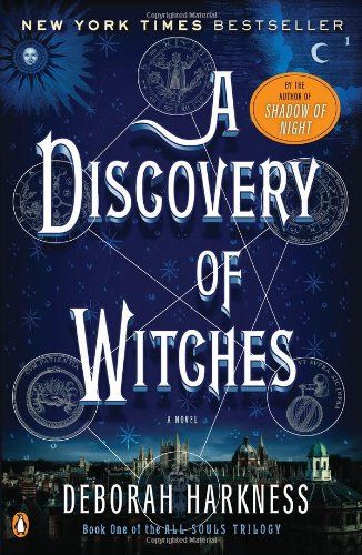 Deborah Harkness's All Souls Trilogy, Three (3) Paperbacks, Books 1, 2, and 3