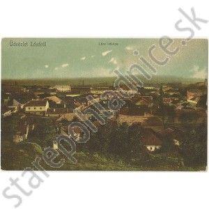 Levice, Stará pohľadnica Levice, Léva