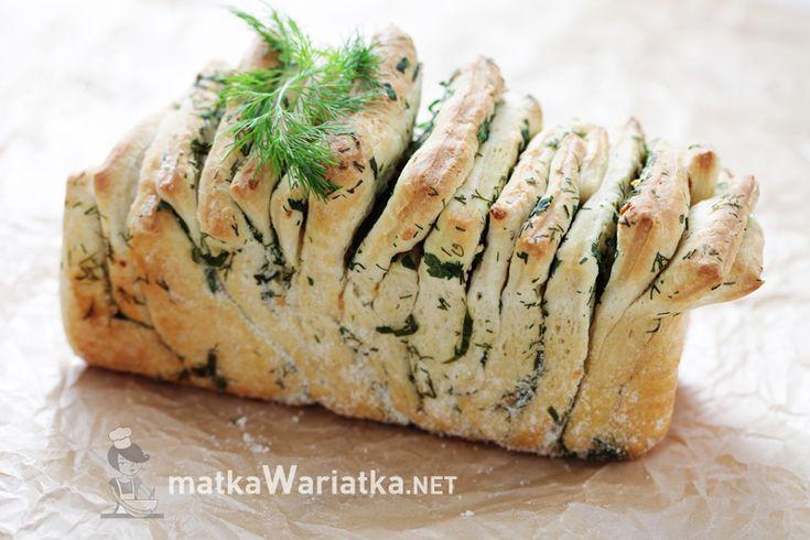 Ziołowy chlebek do odrywania