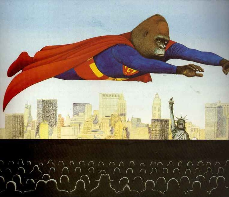anthony browne - 'gorilla'  ...Love all Anthony Browne books.