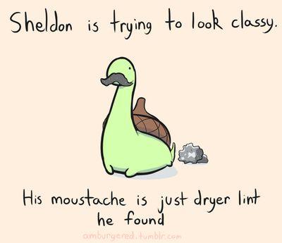 Adventures of Sheldon the tiny dinosaur
