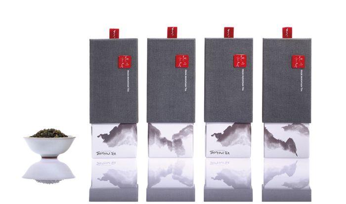 Taiwan High Mountain Tea-6 by Victor Branding Design Corporation #packaging #tea