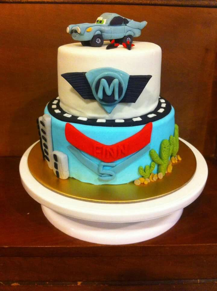 Cars Finn mcmissile cake Www.facebook.com/Rkdesignsnz