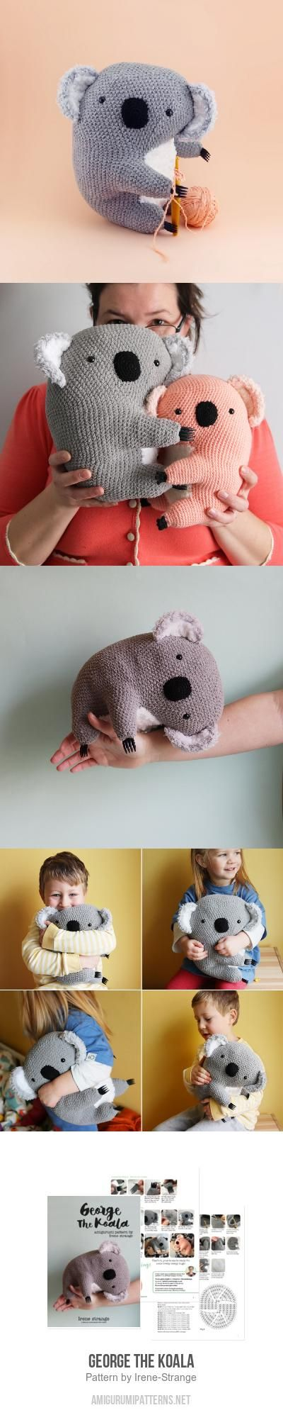 George The Koala Amigurumi Pattern
