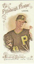 2014 Topps Allen Ginter Baseball Mini #198 Jeff Locke, Pittsburgh Pirates