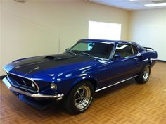 1969 FORD MUSTANG MACH 1 428 SCJ FASTBACK
