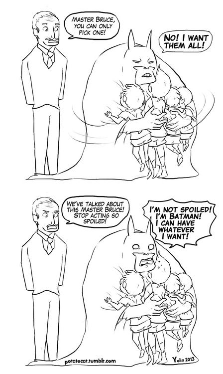 batman My art comic dc comics robin dick grayson Alfred Pennyworth bruce wayne jason todd Damian Wayne tim drake batfamily