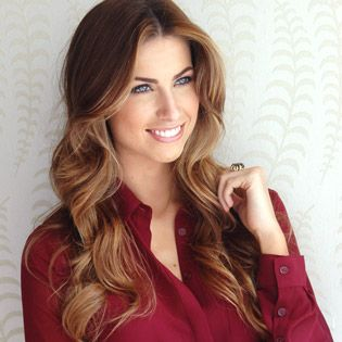 Model Katherine Webb: The Perfect Haircut