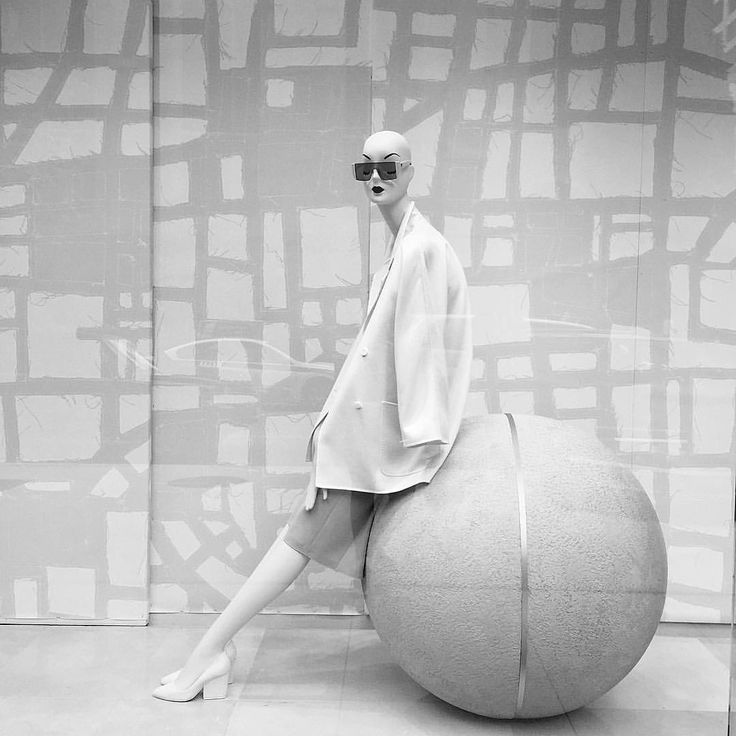 "MAXMARA, Chicago, Illinois, ""Natural Selection"", photo by Kristin, pinned by Ton van der Veer"
