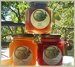 Melon Marmalade, Watermelon Marmalade and Pure Fig Marmalade