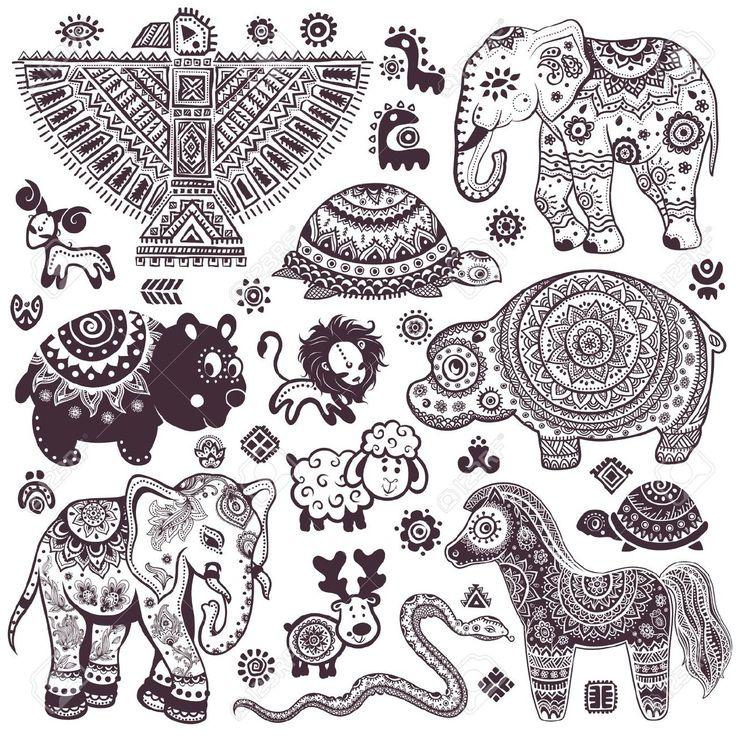 Mandala Elephant Google 搜尋 Elephant Tattoos Mandala