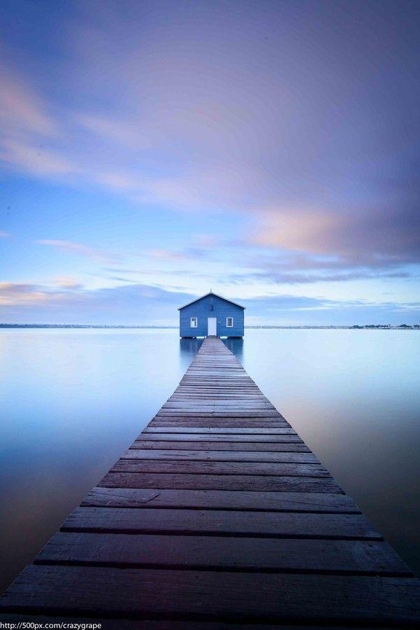 Boathouse near Matilda Bay, Perth, Australia