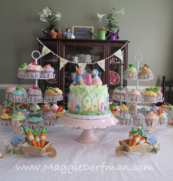 Peter Rabbit Cake Cupcakes