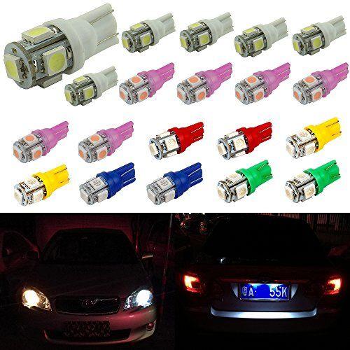Senzeal 20X 5050 5SMD 194 LED Bulb T10 LED Marker Lights ... https://www.amazon.com/dp/B01N91877W/ref=cm_sw_r_pi_dp_x_Mq6wyb8ZWAWGX