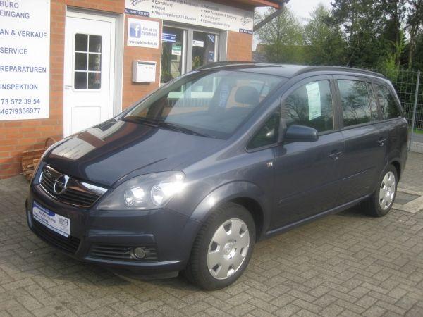 Opel Zafira 1.6L Euro4 TÜV 05/2017