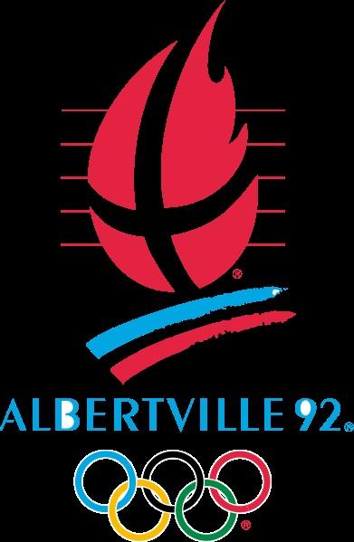 Logo of the 1992 Winter Olympic Games - Albertville, France