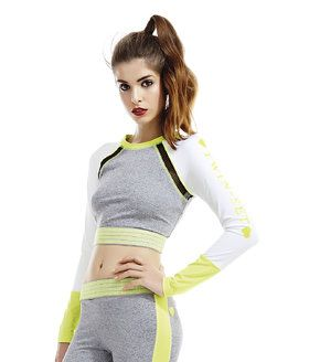 <strong>Sportswear Short Top Giallo Fluo  </strong></br><em>Available size:</em> S and M