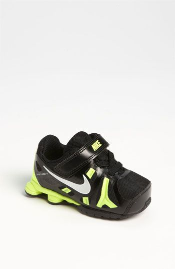 Nike Shox Turbo 13 Black Yellow Silver