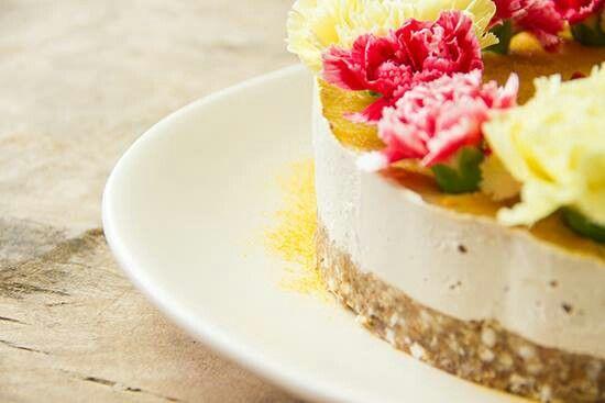 Raw Pineapple Coconut cake