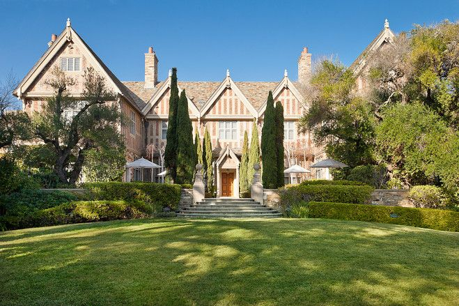 A Cotswold Restored in California - beautiful tutor-style: Dreams Houses, Wsj Houses