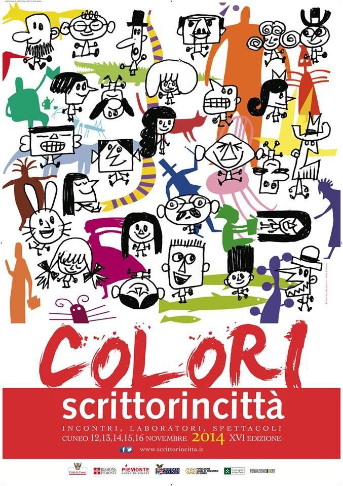 Cuneo 12 - 16 novembre 2014 Il tema del 2014 è COLORI. Il colore è immagine, il colore è bellezza, il colore è anche pura apparenza. Il colore è natura, arte. Ma i colori sui quali ci interrogheremo non c'entrano solo con la vista: sono anzitutto l'idea che ci facciamo delle cose. Sono i colori della mente, dei pensieri. Sono i colori delle emozioni. Sono i colori degli stati d'animo: il colore diventa un riflesso di quel che proviamo, sentiamo, percepiamo.