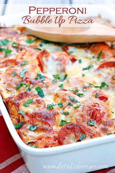 Pepperoni Bubble Up Pizza on MyRecipeMagic.com