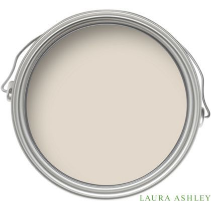Laura Ashley Pale Twine - Kitchen And Bathroom Silk Paint - 2.5L
