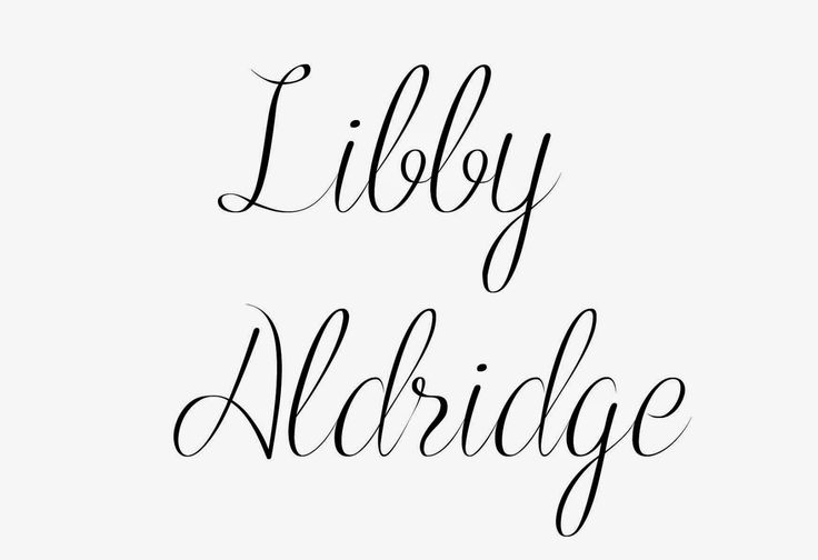 only music saves: Artist of the day : Libby Aldridge.