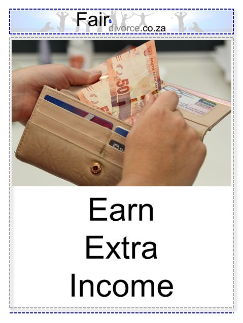 Earn Extra Income, Extra Cash, Post Divorce Income, Supplementary Income, Part-time Jobs, Flexi-Time Jobs, Fair Divorce, Divorce Mentor,