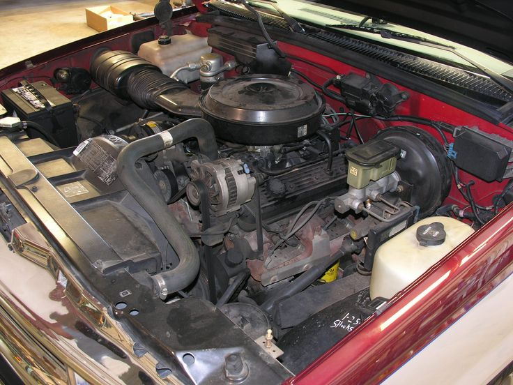 Parts 350 Chevy Pickup 1989