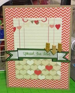 spread the love card by rosaliejb at Studio Calico