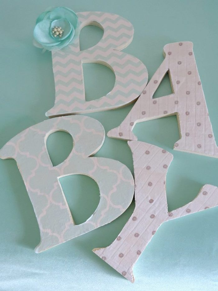 "Turquoise Owl ""Welcome Home Baby"" Party via Kara's Party Ideas | KarasPartyIdeas.com (22)"