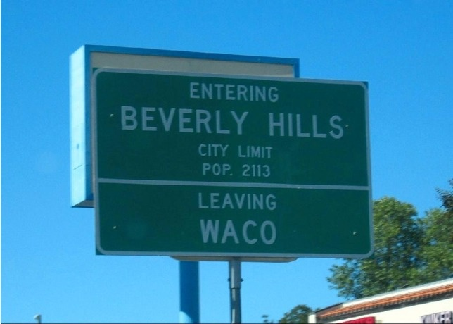 Beverly hills texas a suburb of waco wacotown waco for Window world waco