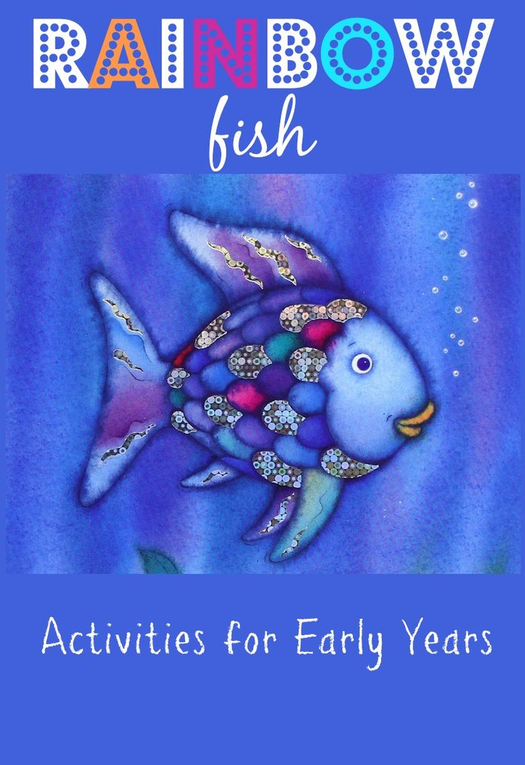 rainbow fish activities for early years