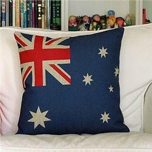 Enveloppe de coussin/ taie d'oreiller drapeau australien