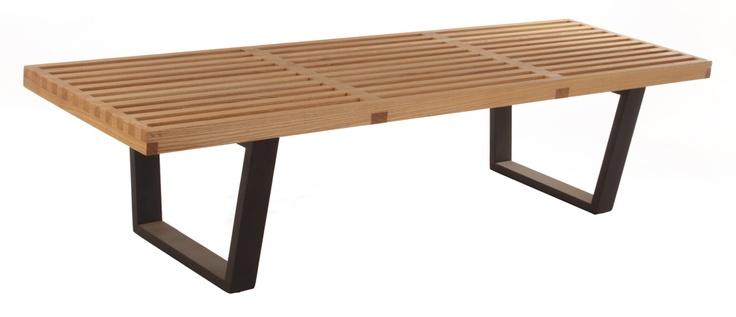 Replica George Nelson Platform Bench Medium by George Nelson - Matt Blatt