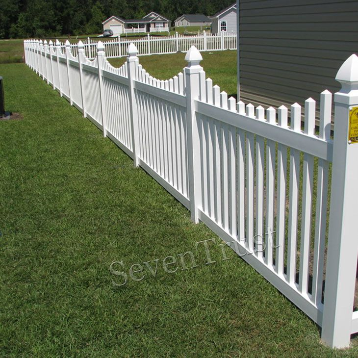 Best eco railings wpc fence pvc poly vinyl