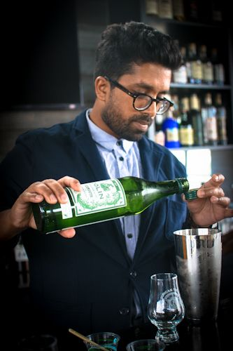 International Bartender of the Year #TOTC2015. Ryan Chetiyawardana (A.K.A Mr. Lyan) is has been the recipient of many awards and opened three 'Mr Lyan' bars ­ 'Henry' at the Hudson hotel in New York, and 'White Lyan' ­ the first cocktail bar in the world to feature no perishables ­in London which was awarded 'Best New Bar in the World' at the 2014 Spirited Awards. 'Dandelyan' launched on Southbank, London within the Mondrian Hotel in October 2014.