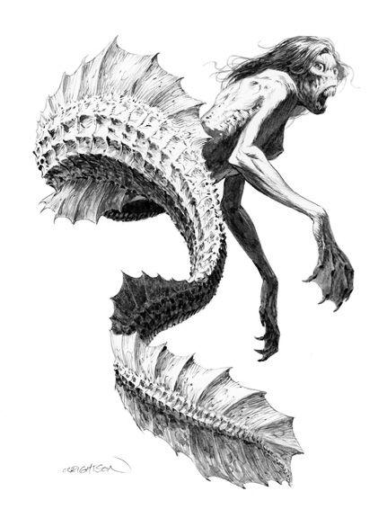Mermaid by Bernie Wrightson
