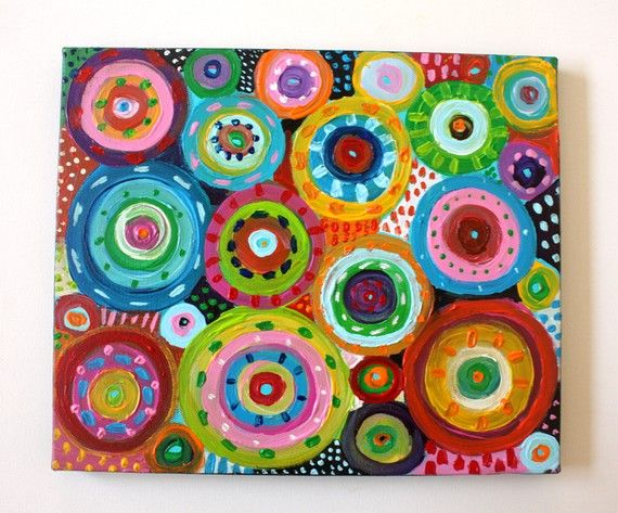 Circle Art. Sold, but this would be a fun project to try
