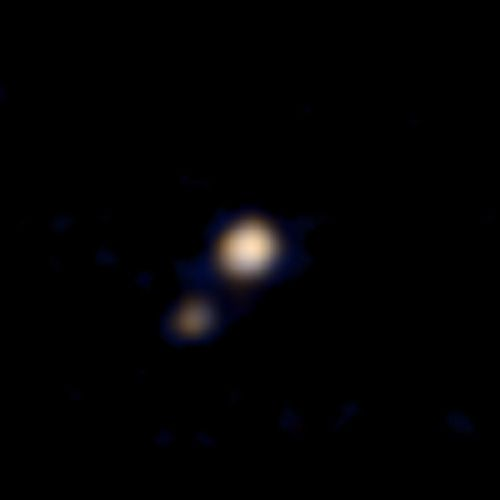 NASA-Raumsonde liefert erste Nahaufnahme des Pluto-Systems . . . http://grenzwissenschaft-aktuell.blogspot.de/2015/04/nasa-raumsonde-liefert-erste.html . . . Abb.: NASA/Johns Hopkins University Applied Physics Laboratory/Southwest Research Institute