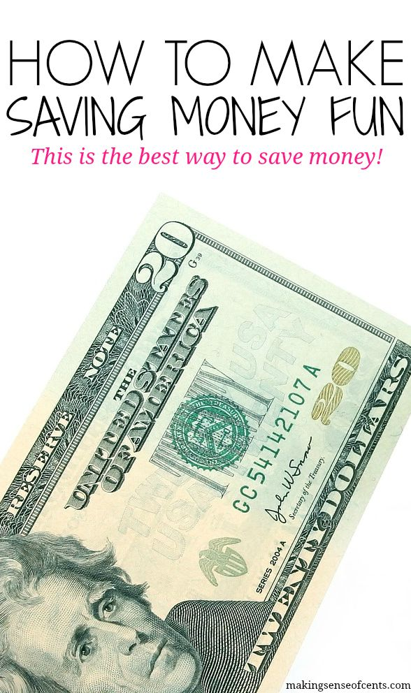 I believe the best way to save money is to learn how to make saving money fun. This can help keep you motivated and interested in saving money.