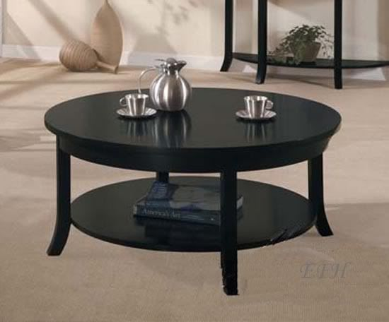 New modern gardena black wood round coffee table - 25+ Best Ideas About Black Coffee Table Sets On Pinterest Rustic