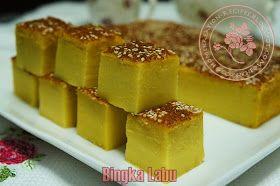 HomeKreation - Kitchen Corner: Bingka Labu (Baked Pumpkin Kuih)