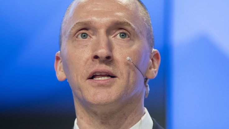 Today in Trump-Russia News: Carter Page surveilled under suspicion he was a foreign agent.