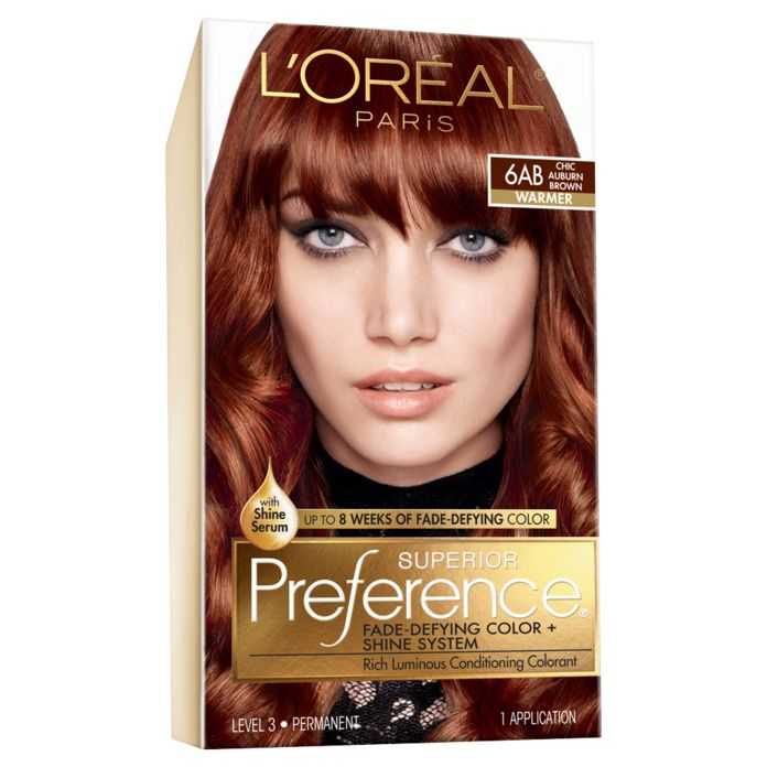 The Best Single Process Color Kit L Oreal Paris Superior Preference The Winners Of Instyle S Best Bea Loreal Hair Color Hair Color Auburn Lasting Hair Color
